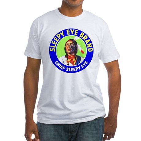 CHIEF SLEEPY EYE Fitted T-Shirt