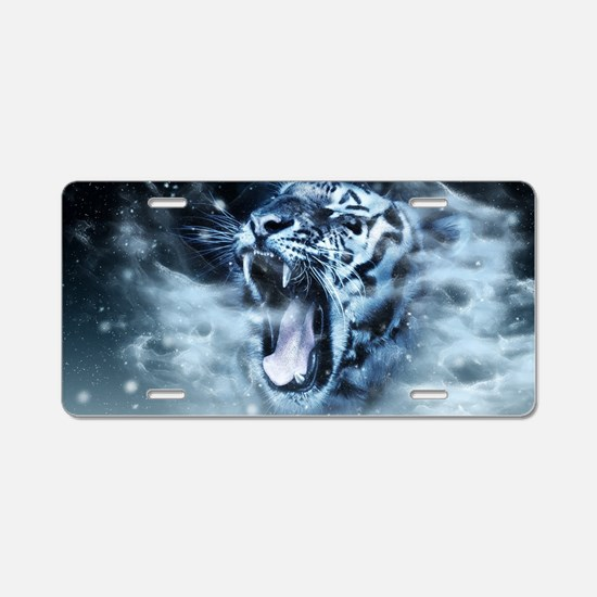 Cute Bengal Aluminum License Plate