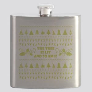 THE TREE IS LIT... Flask