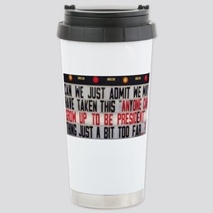 Anyone can Stainless Steel Travel Mug