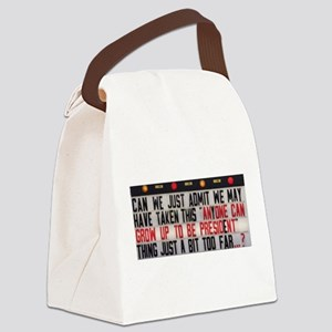 Anyone can Canvas Lunch Bag