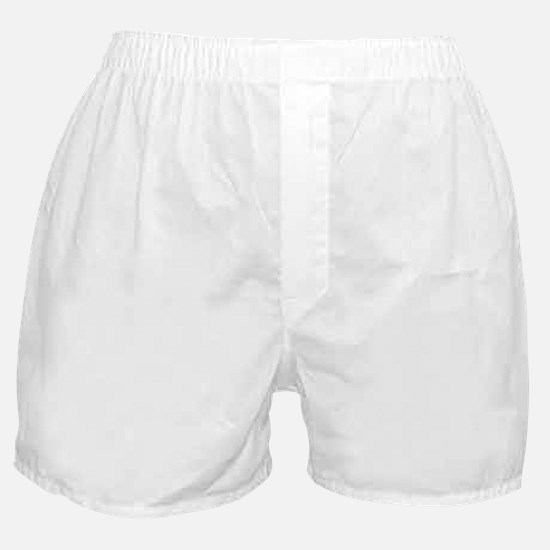 white lucky rocketships Boxer Shorts