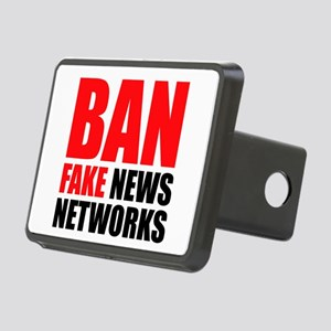 Ban Fake News Networks Hitch Cover