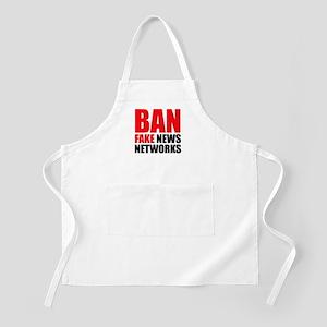 Ban Fake News Networks Apron