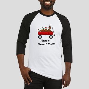 Personalized Red Wagon Baseball Jersey