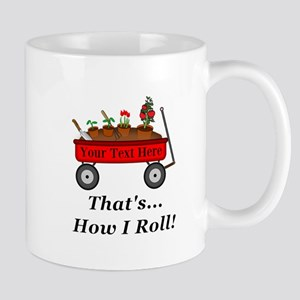 Personalized Red Wagon Mug