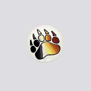 BEAR PRIDE PAW2/TONES Mini Button