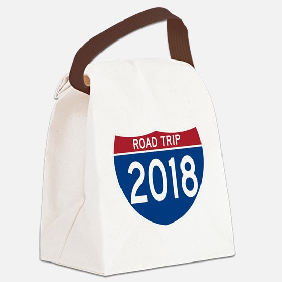 Unique Turnpike Canvas Lunch Bag