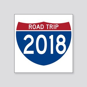 Road Trip 2018 Sticker
