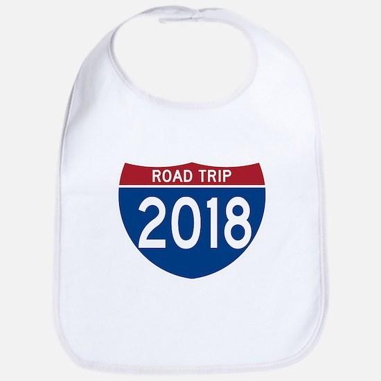 Road Trip 2018 Baby Bib