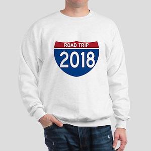 Road Trip 2018 Sweatshirt