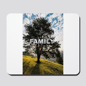 Family Tree Mousepad