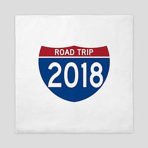 Road Trip 2018 Queen Duvet