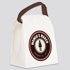Women's March 2017 Canvas Lunch Bag