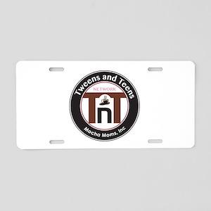 MM Tweens and Teens Logo Aluminum License Plate
