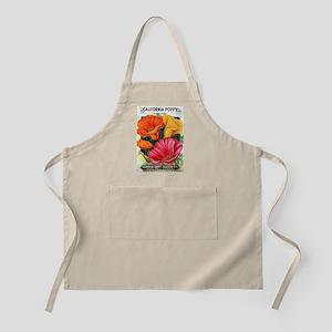 California Poppy Apron