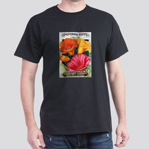 California Poppy Dark T-Shirt