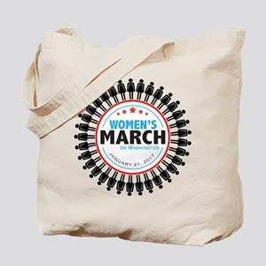 Womens March Tote Bag