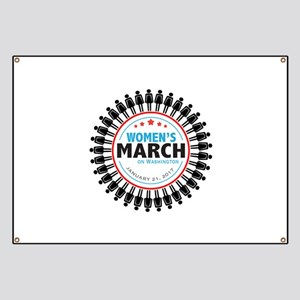Womens March Banner