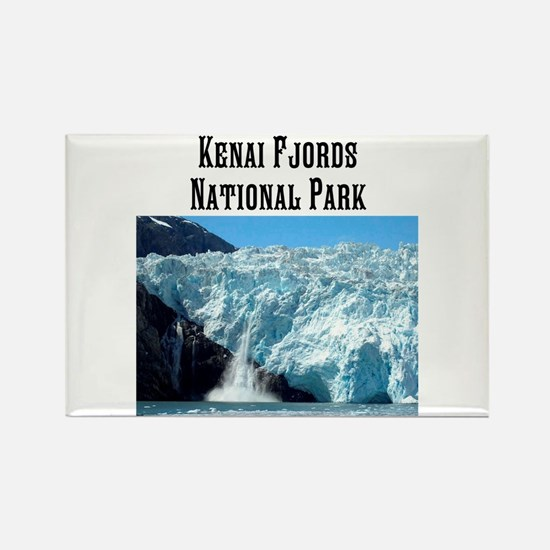 Kenai Fjords National Park Rectangle Magnets