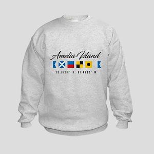Amelia Island Nautical Flags Sweatshirt