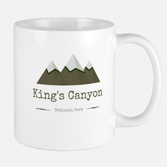 King's Canyon National Park Mugs