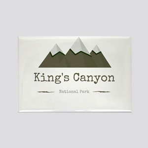 King's Canyon National Park Magnets