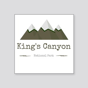 King's Canyon National Park Sticker