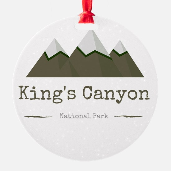 King's Canyon National Park Ornament