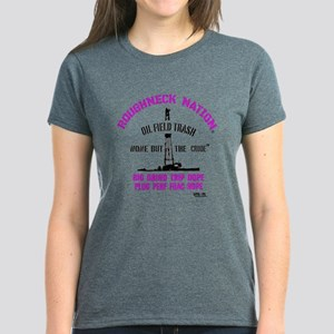 TRASH Oilfield Women's Dark T-Shirt