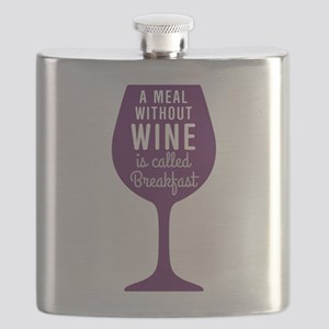 Meal Without Wine Flask
