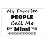 People call me Mimi Large Poster