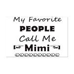 People call me Mimi Mini Poster Print