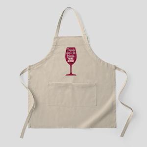 Wine Alone Apron