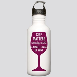 Wine Size Matters Stainless Water Bottle 1.0L