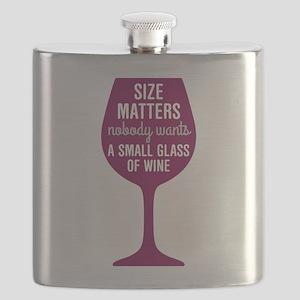 Wine Size Matters Flask