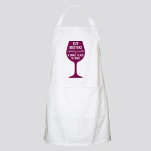 Wine Size Matters Apron