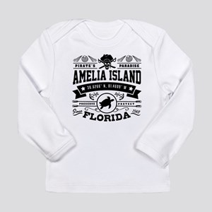 Amelia Island Pirate's Paradis Long Sleeve T-Shirt