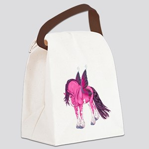Pink Fantasy Clydesdale Fairy Horse Canvas Lunch B
