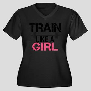 Train Like A Plus Size T-Shirt