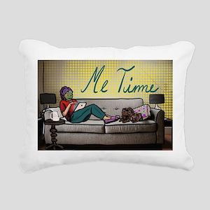 Me Time Rectangular Canvas Pillow