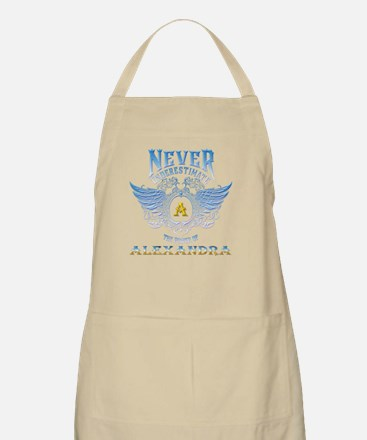 never underestimate the power of alexa Light Apron
