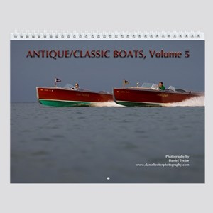 Antique/classic Boats Vol. 5 Wall Calendar