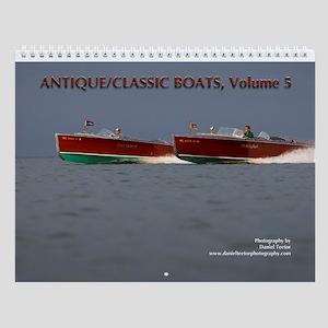 Antique/classic Boats Vol. 5 Wall Calendar