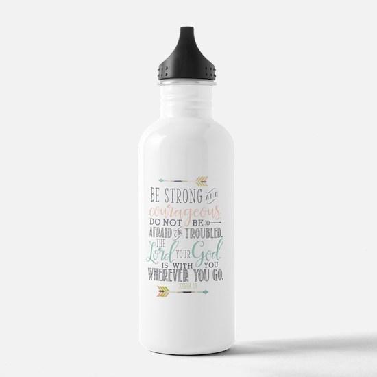 Cute Christianity Water Bottle