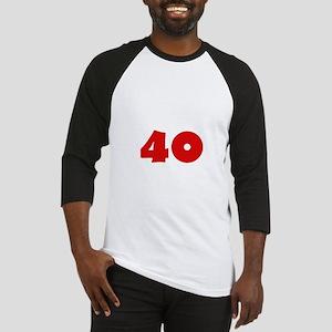 40 D Baseball Jersey