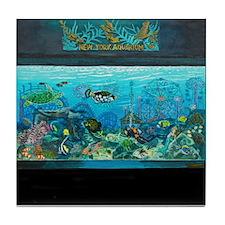 New York Aquarium Tile Coaster