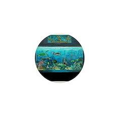 New York Aquarium Mini Button