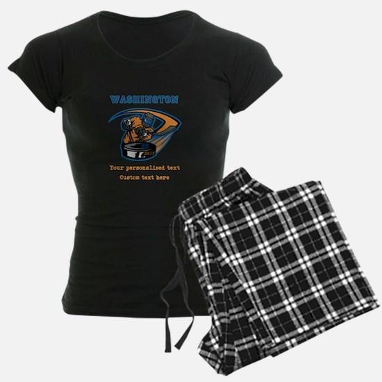 Hockey Personalized Pajamas