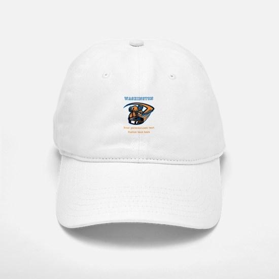 Hockey Personalized Baseball Baseball Baseball Cap